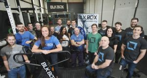 The staff  at BLK BOX Fitness