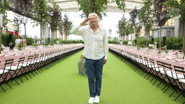 Richard Branson. Photograph: Vincenzo Lombardo/Getty Images