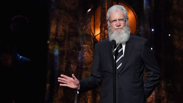 David Letterman. Photograph: Mike Coppola/Getty Images