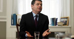 "Minister for Finance Paschal Donohoe urged to ""play it safe"" in October's budget. Photograph: Clodagh Kilcoyne/Reuters"