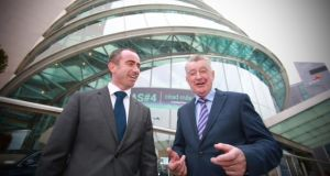 Anam chairman Darragh Kelly   with the company's chief executive Noel Kelly. Photograph: Media Mentor Public Relations