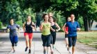 Those meeting recommended physical activity targets are more likely to have positive mental health and less likely to have negative mental health.  Photograph: iStock
