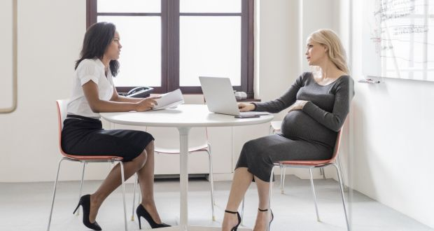 Communication around returning to work after maternity leave should be open, transparent and happen as early as possible, even before the women goes on leave. Photograph: iStock