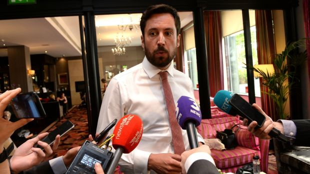 Minister for Housing Eoghan Murphy. The homelessness issue is becoming dangerously personalised for him. File photograph: Cyril Byrne/The Irish Times