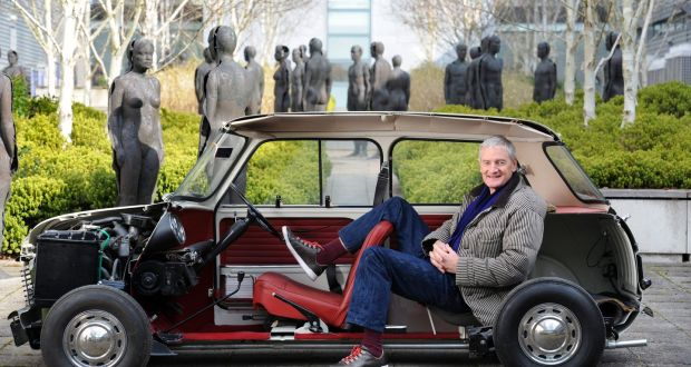 Inventor And Entrepreneur Sir James Dyson At His Malmesbury Offices In Wiltshire England With