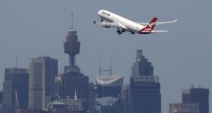 Alan Joyce, Qantas CEO: 'We're now comfortable that we think we have vehicles that could do it' Photograph:  Jason Reed/Reuters