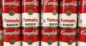 Campbell Soup has been struggling to rein in costs and attract young consumers to its namesake soups and Pepperidge Farm cookies. Photograph: Chris Helgren/Reuters