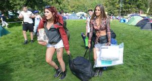 Time your entrance: Friday lunchtime is best for arriving at Electric Picnic. Photograph: Dave Meehan