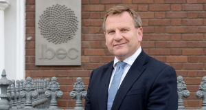 Danny McCoy, chief executive of Ibec, at its offices on Baggot Street, Dublin this week. Photograph: Alan Betson