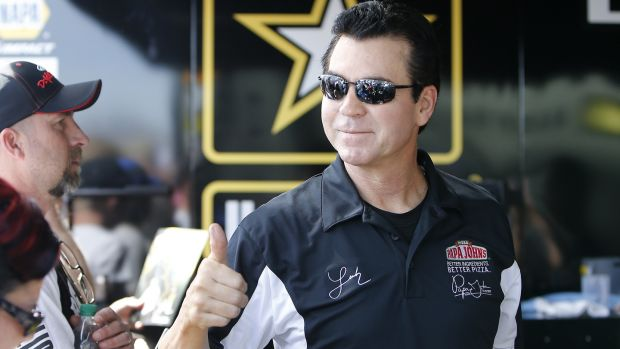 John Schnatter, the colourful founder of the Papa John's pizza chain. Photograph: Marc Sanchez/Icon Sportswire via Getty Images
