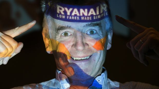 Ryanair chief executive Michael O'Leary. The airline's statement defending its obscene new cabin baggage restrictions and charges was straight out of Ryanair's old, arrogant, anti-consumer playbook. Photograph: Getty Images