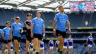 "Jonny Cooper leads Dublin into action against Laois in the Leinster final. ""Teams are trying to play to their own advantages the best they can and ultimately get a result."" Photograph: Ryan Byrne/Inpho"