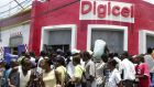 Digicel office in Port-au-Prince, Haiti. The company expects to generate $90 million from a previously-announced disposal of 450 towards across the Caribbean by the end of September. File photograph: Thony Belizaire/AFP/Getty Images