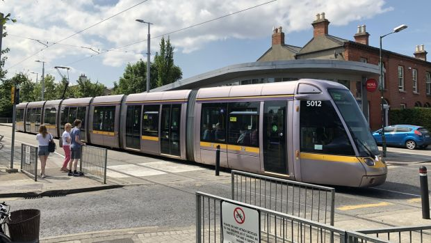 Luas operator Transdev has provided more than 100 cooler bags to tram drivers in an attempt to resolve a row over packed lunches which the company says could cost it up to €250,000. Photograph: Bryan O'Brien/The Irish Times.