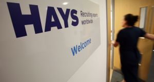 Hays, like other British recruiters, has helped to offset challenges at home with growth abroad. Photograph: Chris Ratcliffe/Bloomberg