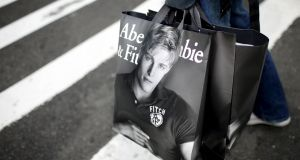 The Abercrombie group has two stores in Dublin - one Abercrombie and Fitch outlet and one Hollister outlet. Photograph: Mike Segar/Reuters