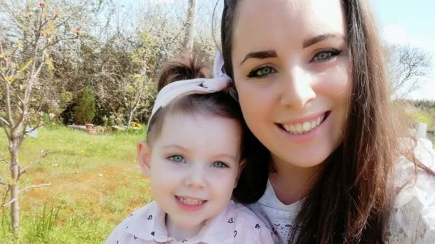 Sarah O'Connell (with her two-year-old daughter), who returned to live in Limerick after two years in Australia, and four in New Zealand