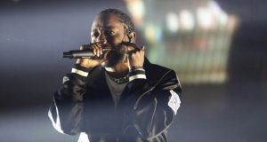 Kendrick Lamar: vital, politically assertive, straight-banging music.  Photograph: Caitlin O'Hara/New York Times