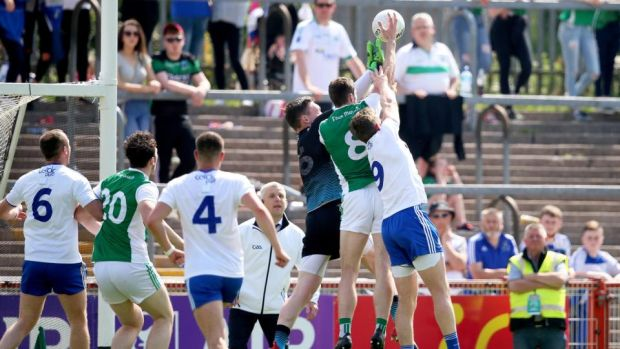 Eoin Donnelly exposed Monaghan's weakness under the high ball at exactly the right time.
