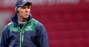 Connacht coach Andy Friend: More by coincidence than design, he has never managed to stay longer than three years in one job. Photograph: James Crombie/Inpho