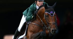 Shane Sweetnam was victorious in New York. Photograph: Cathal Noonan/Inpho