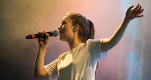 Electric Picnic: for all its uncomplicated nature, Sigrid's music is immensely special. Photograph: Dave Meehan