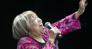 Mavis Staples: the singer is heading for 80, but you wouldn't know it. Photograph: Dave Meehan