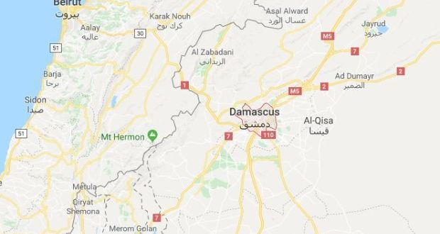 Loud blasts heard at Syrian air base but cause disputed on map of syria homs, map of syria raqqa, map of syria damascus, map of syria deraa, map of syria idlib, map of syria palmyra, map of syria latakia,