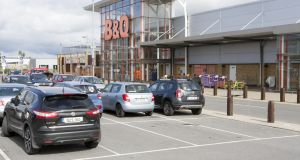 B&Q at City East Retail Park, Limerick. Photograph: Liam Burke/Press 22
