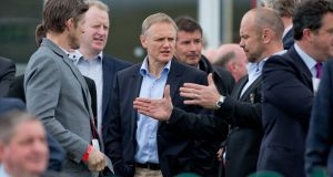 Ireland boss Joe Schmidt pictured at Punchestown in 2015. Photograph: Morgan Treacy/Inpho
