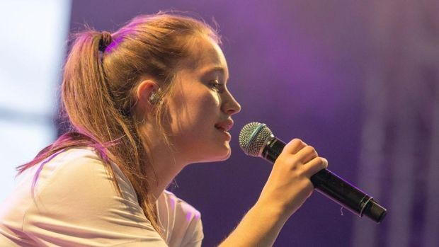 Best surprise gig: Sigrid, who rocked up at Other Voices an hour before her arena show. Photograph: Dave Meehan