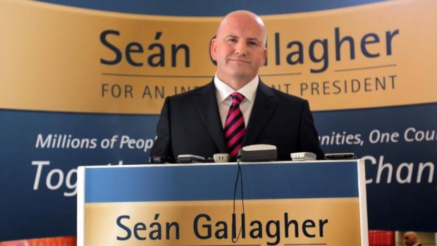 Seán Gallagher during his campaign for the presidency in 2011 .Photograph: Brenda Fitzsimons