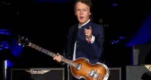 Paul McCartney: 'We felt we had seen a higher thing.' Photograph:  Kevin Winter/Getty Images