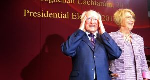 The biggest danger to the return of Michael D Higgins for a second term as president could be the candidate himself – if he does not engage fully with the issues that arise during the campaign. File photograph: Peter Muhly/AFP/Getty Images)