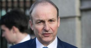 Micheál Martin: 'It's a scandal the Assembly and the Executive are not in situ'. Photograph: Gareth Chaney/Collins