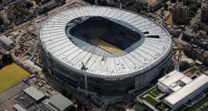 Tottenham's new stadium at White Hart Lane is still under construction. Photo: Getty Images