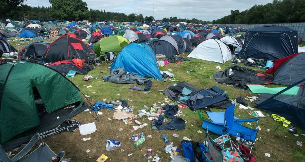 Electric Picnic Ten Kilos Of Rubbish Per Person Left At Site