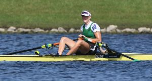 Ireland's Sanita Puspure  will be a medal contender at the World Rowing Championships in Bulgaria. Photograph: Inpho