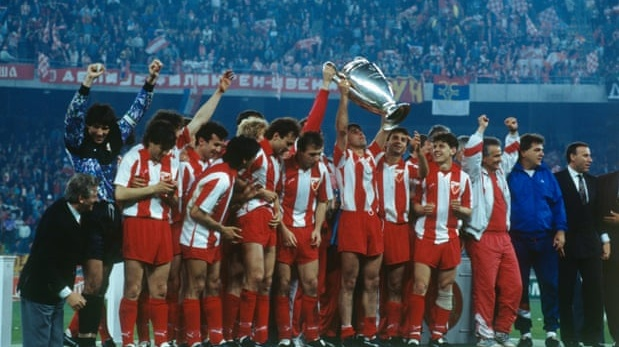 Red Star Belgrade won the European Cup in 1991. Photograph: Corbis/Getty Images