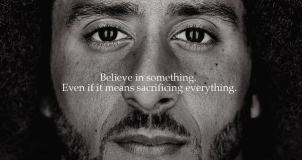 c6d7f2d0cc03 Colin Kaepernick is the face of Nike s new  Just Do It  campaign. Photograph