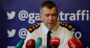 New Garda Commissioner Drew Harris said he regarded himself as Irish. Photograph: Cyril Byrne/The Irish Times