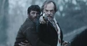 "James Frecheville and Hugo Weaving in Black '47: ""This is almost an anti-western in that it is told from the side of the Apaches,"" says the film's director, Lance Daly"