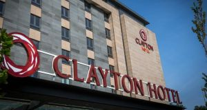 The Clayton and Maldron chains are owned by hotel operator Dalata. Occupancy in its Dublin hotels increased from 82.3 per cent to 86.2 per cent in the first six months of this year.