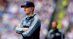 Dublin manager Jim Gavin:  now the county's most successful manager with five All-Irelands. Photograph: Ryan Byrne/Inpho