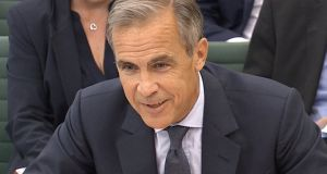"Bank of England governor Mark Carney said he was ""willing to do whatever else I can in order to promote both a smooth Brexit and effective transition at the Bank of England"". Photograph: Reuters"
