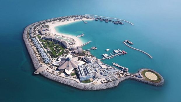 Qatar: the five-star Banana Island resort