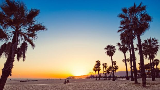 Santa Monica: oddly familiar, even if you've never visited before. Photograph: Getty