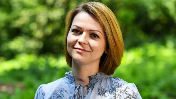 Yulia Skripal who was contaminated with the nerve agent Novichok along with her father Sergei Skripal. File photograph: Dylan Martinez/PA Wire