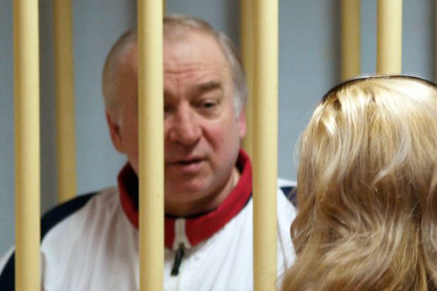 Former Russian military intelligence colonel Sergei Skripal. Photograph: Getty