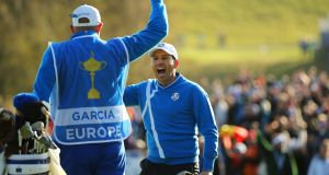 Sergio Garcia will represent Europe at this month's Ryder Cup in Paris. Photograph: Cathal Noonan/Inpho